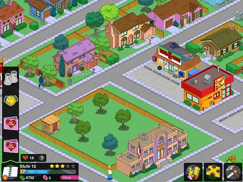 Stadt Aufbauen Spiel