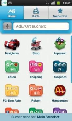 Telmap M8 Android Homescreen 2