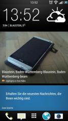 HTC ONE Sense