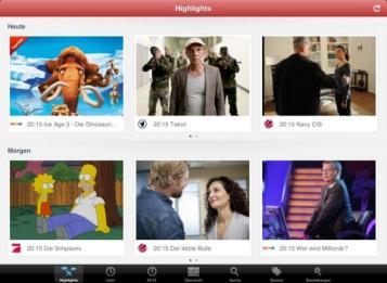 ON AIR 4.0 DE iPad - Startseite Highlights 6
