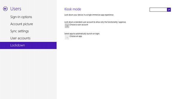 windows 8.1 kiosk modus