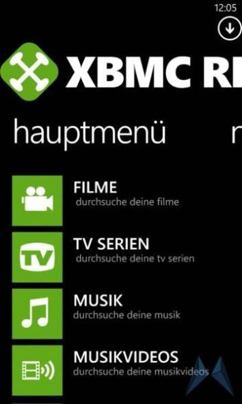 XBMC Remote 8