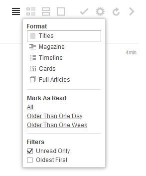 feedly format