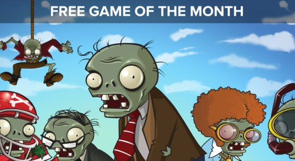 plants vs zombies game of the month