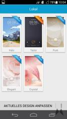 Huawei Ascend P6 Design / Themes