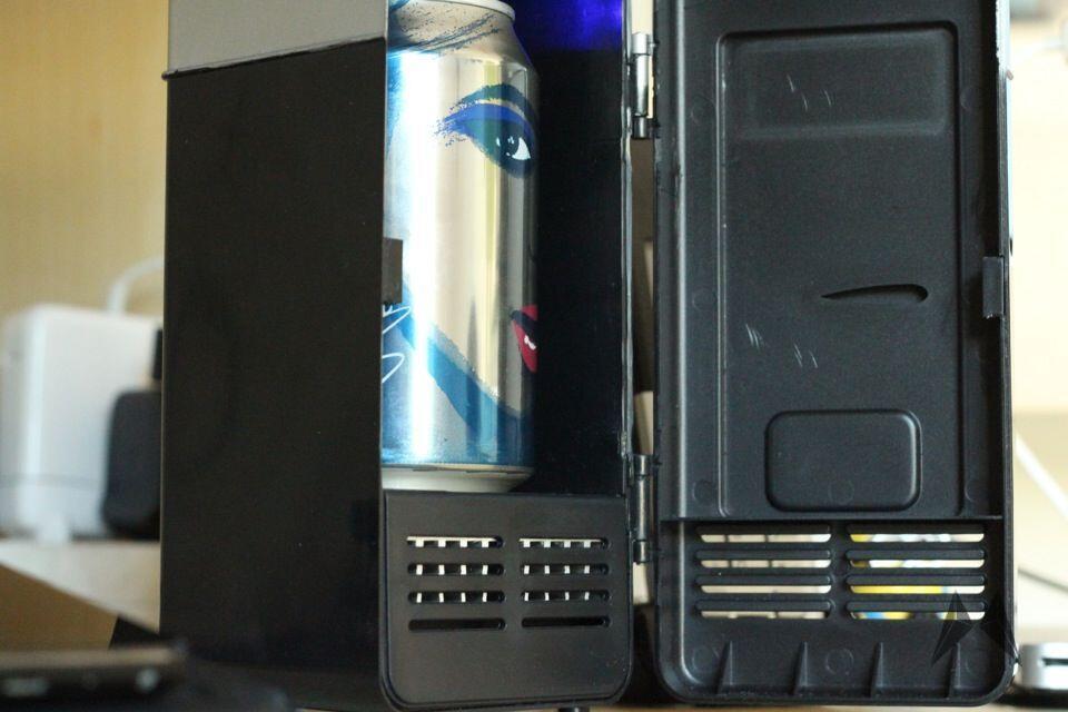 Kleiner Kühlschrank Sehr Leise : Usb kühlschrank ausprobiert verlosung
