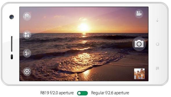Oppo R819 Front Kamera