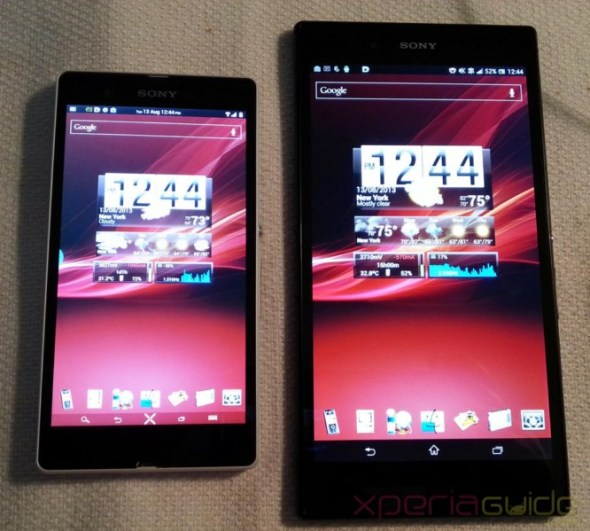 Xperia-Z-Ultra-Vs-Xperia-Z-Red-Xperia-Wallpaper-Comparison 5