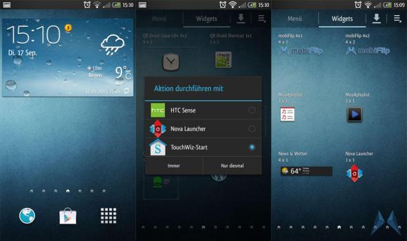 TouchWiz HTC One