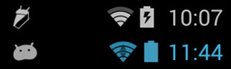 android 4-4 kitkat debug icon