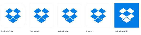 dropbox app icons