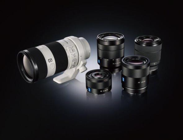 Vollformat E-Mount Objektive von Sony_Gruppe_01
