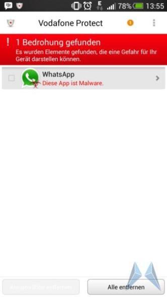 whatsapp virus malware