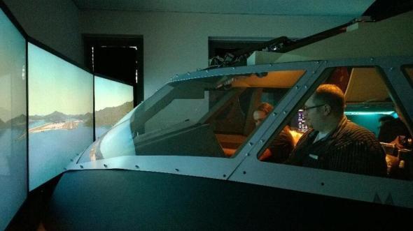 Flugsimulator MeetLumiaDUS
