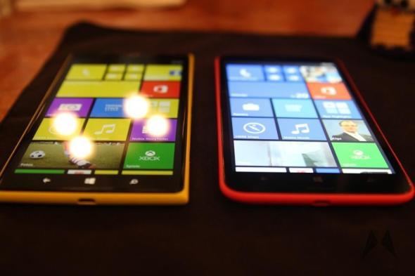 Lumia 1320 Lumia 1520 MeetLumiaDUS 6 Zoll IMG_5531