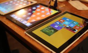 Lumia 2520 vs. iPad Air vs iPad Mini IMG_5540