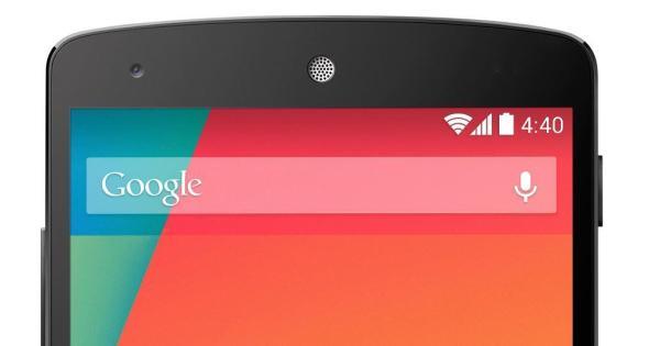 Nexus 5 Top