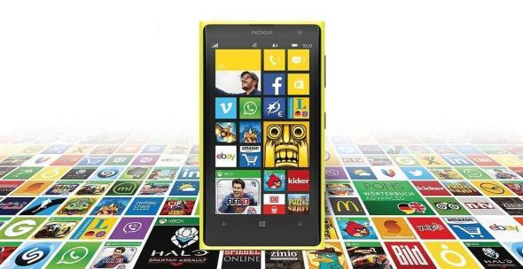 Nokia Windows Phone Header