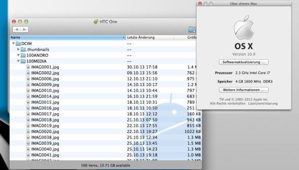 OSX Mavericks Android File Transfer Workaround