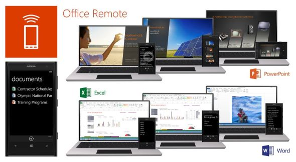 Office Remote Header