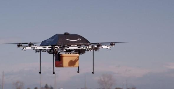 Amazon Drohne Header