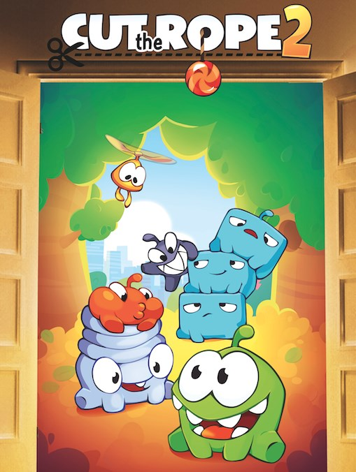 Cut The Rope 2 Flyer