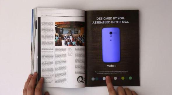 Motorola Printwerbung