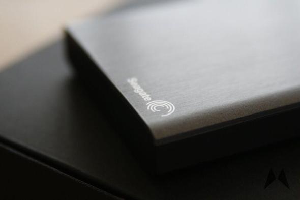Seagate Wireless Plus Festplatte Header