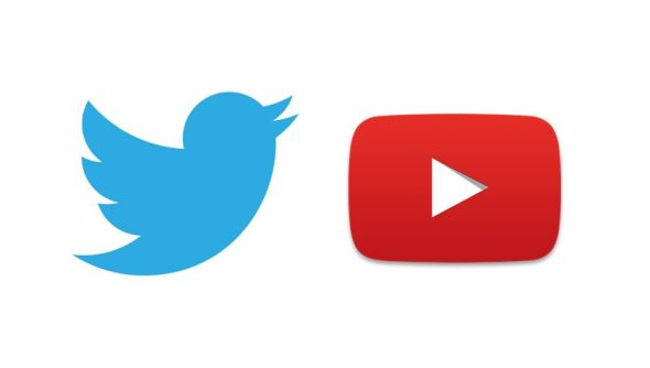 YouTube Twitter Logo