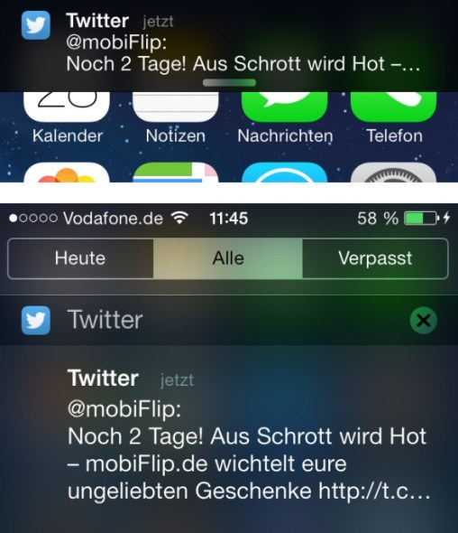 ios twitter notif