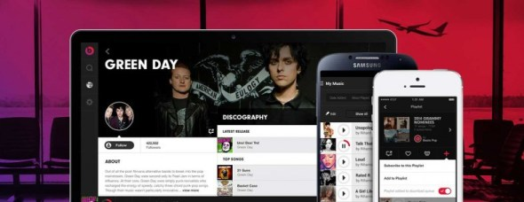 Beats Music Header