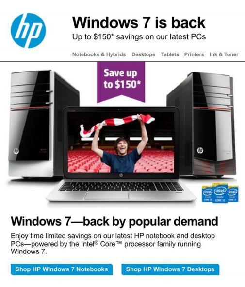 HP Windows 7