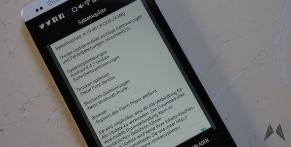 HTC One Android KitKat