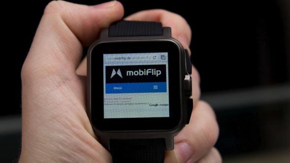 Texte auf der Smartwatch lesen