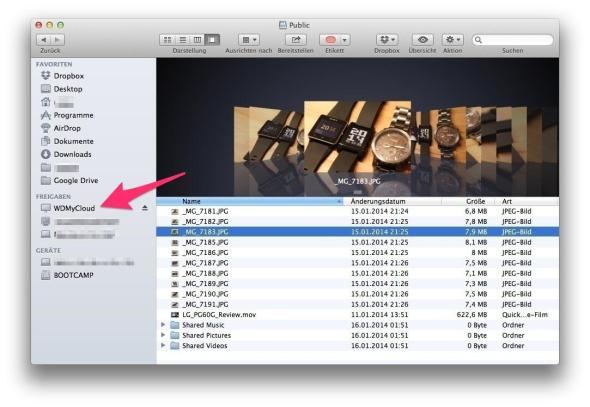 WD MyCloud als Laufwerk Bildschirmfoto_2014-01-22_um_19_15_55