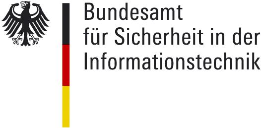 Logo vom Bundesamt für Sicherheit in der Informationstechnik (BSI)