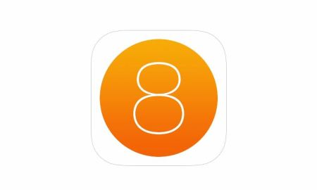 iOS 8 Icon Logo Header