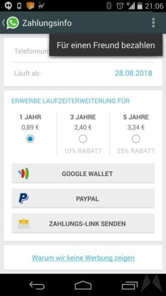 wahtsapp für freund bezahlen (1)