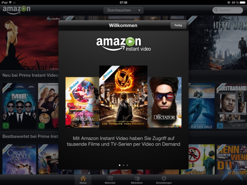 Amazon Prime Instant Video iPad App (4)