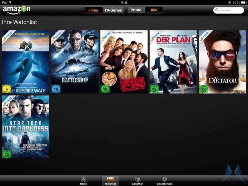 Amazon Prime Instant Video iPad App (6)