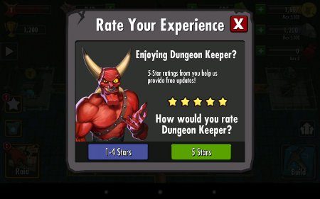 Dungeon Keeper Android Bewertung