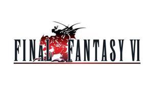 Final Fantasy 6 VI Logo Header