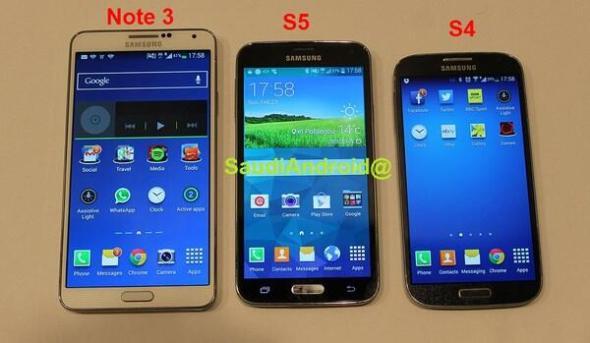 Galaxy S4 S5 Note 3