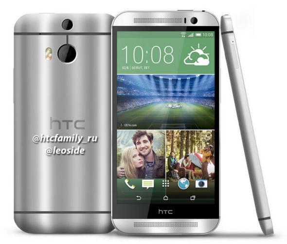 HTC M8 Mockup