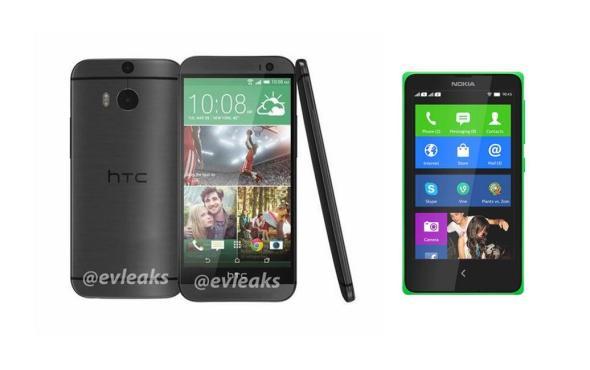 HTC M8 Nokia X