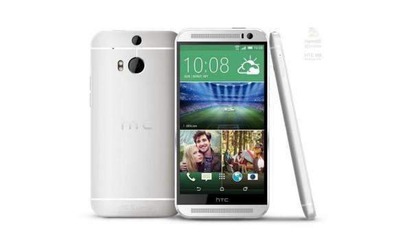 HTC M8 Render