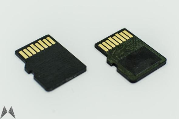 Kingston 64 GB gegen SanDisk 128 GB