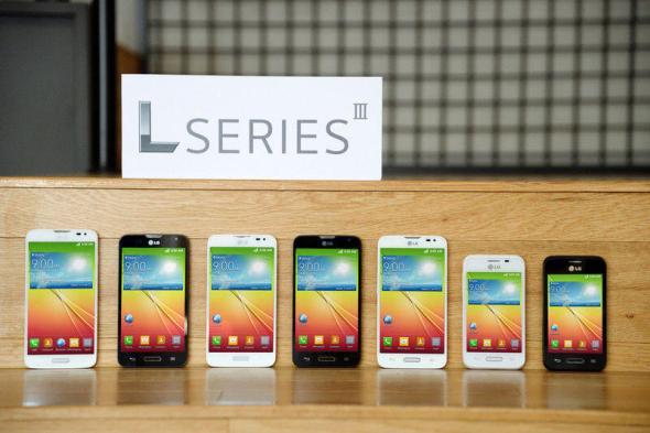 LG Serie 3 Header