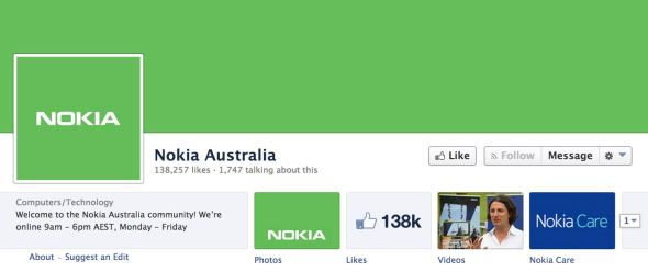 Nokia Australien Grün