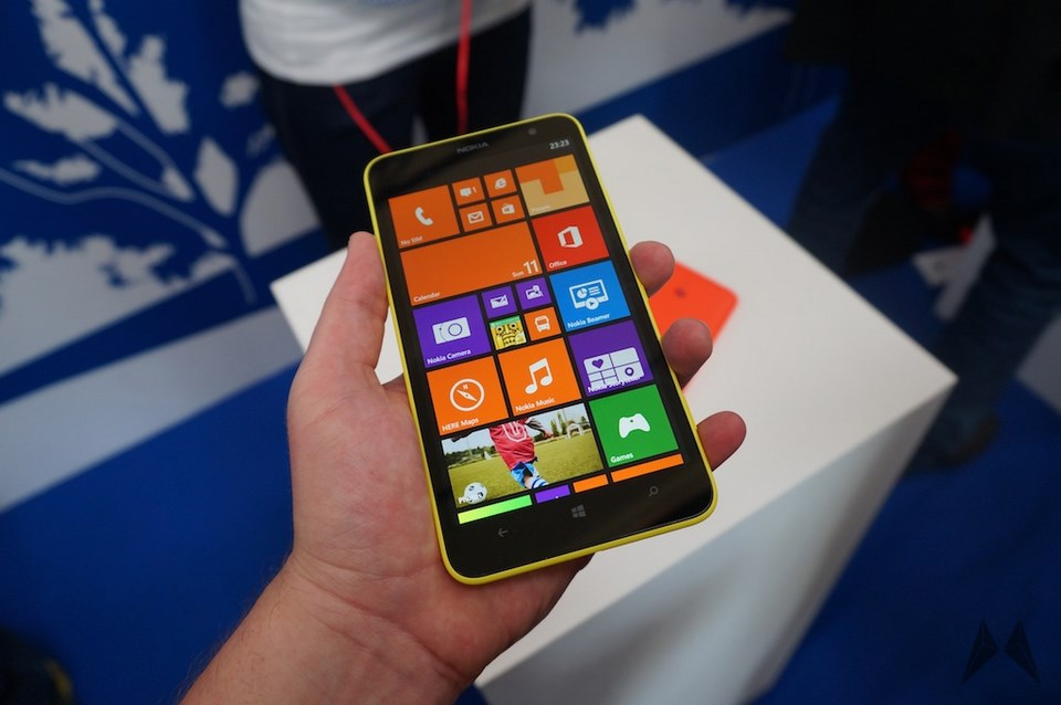 Nokia Lumia 535 Saturn: Nokia Lumia 1320 Landet In Deutschland